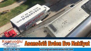 Asansörlü evden eve nakliyat İstanbul Asansörlü Nakliyat taşımacılık Şirketi