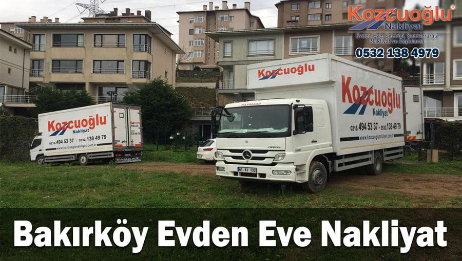 Bakırköy evden eve nakliyat İstanbul bakırköy nakliyat taşıma firması