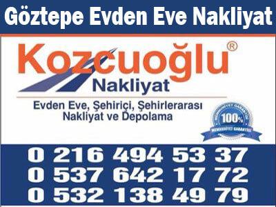 İstanbul Göztepe Evden Eve Nakliyat Şirketi - göztepe evden eve nakliyat firması