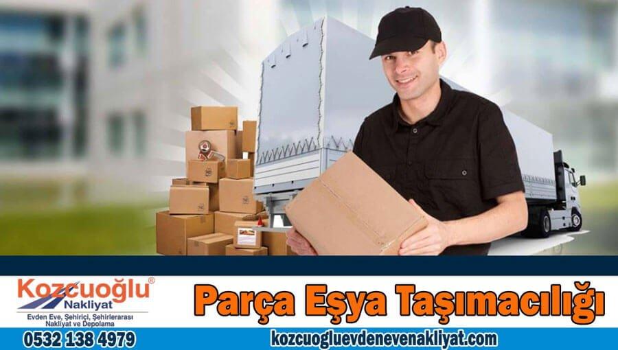 Parça eşya taşımacılığı İstanbul parça eşya taşıma nakliye firması