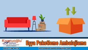 Eşya Paketleme Ambalajlama İstanbul nakliyat eşya paketleme firması