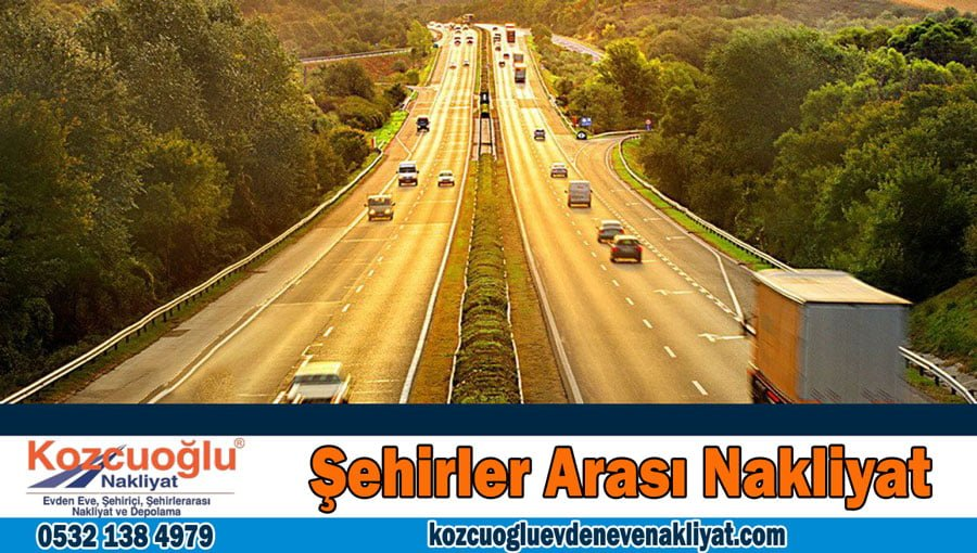 Şehirler arası nakliyat İstanbul Şehirlerarası evden eve nakliyat taşımacılık firması