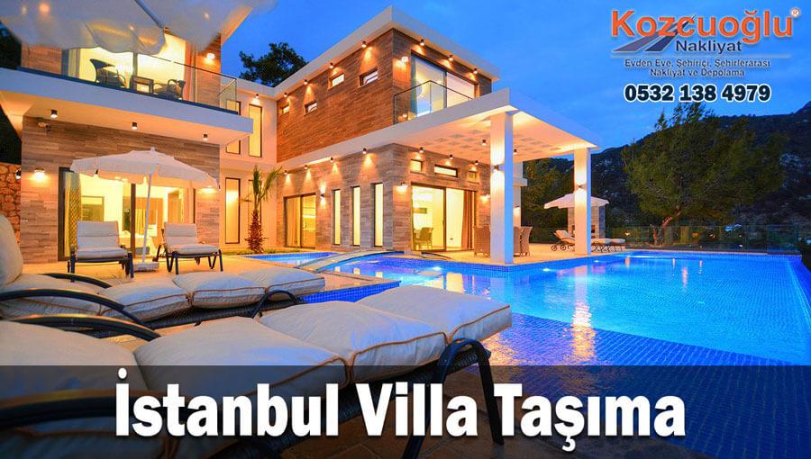 Villa Taşıma İstanbul villa taşımacılığı Anadolu Avrupa Asya Sigortalı Kozcuoğlu Nakliyat