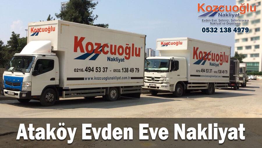 Ataköy evden eve nakliyat İstanbul ataköy nakliyat taşıma firması