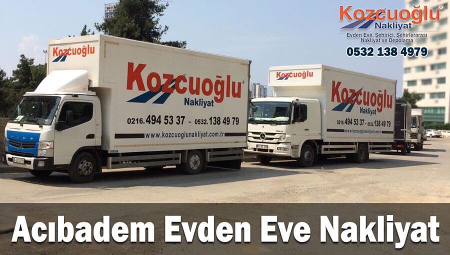 Acıbadem evden eve nakliyat İstanbul acıbadem nakliyat fiyarları Acıbadem ev taşıma firması
