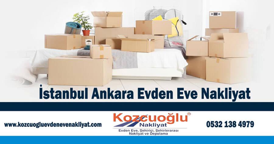 İstanbul ankara evden eve nakliyat - ankara istanbul evden eve nakliyat firması
