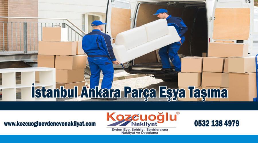 İstanbul Ankara parça eşya taşıma İstanbul Parsiyel Eşya Taşımacılığı
