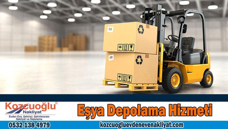 Fuar depolama İstanbul Fuar eşyaları depolama firması