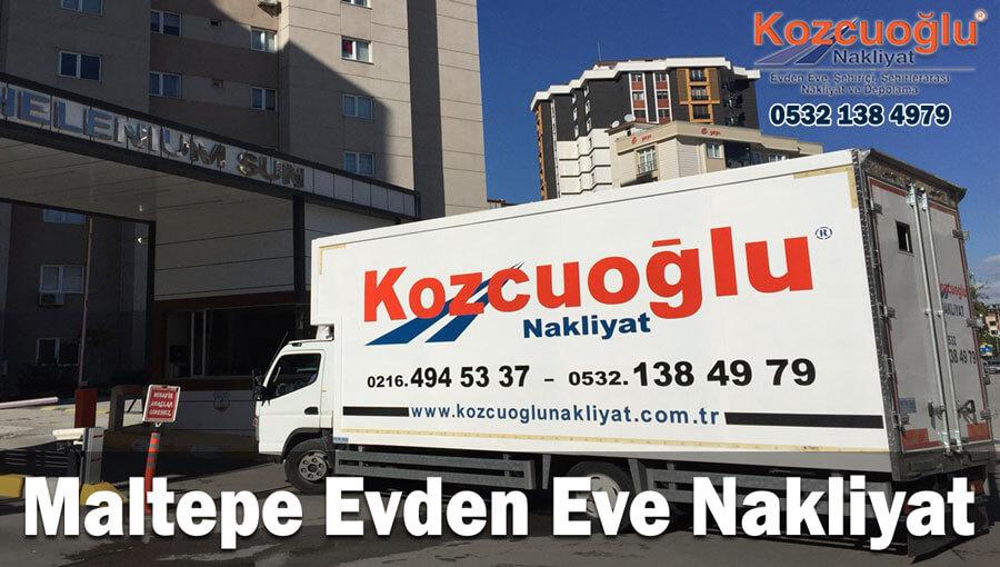 Maltepe evden eve nakliyat İstanbul maltepe nakliyat maltepe asansörlü nakliye firmaları