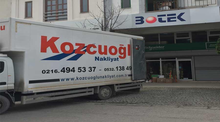 kozcuoğlu evden eve nakliyat İstanbul ofis taşıma profesyonel titiz ofis taşımacılığı
