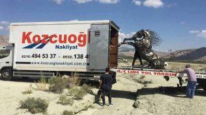 Kozcuoğlu evden eve nakliyat sanat eseri taşımacılığı tarihi eser taşıma