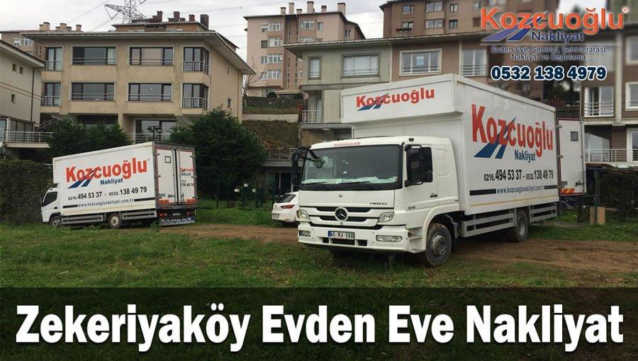 Zekeriyaköy Evden Eve Nakliyat İstanbul zekeriyaköy nakliyat firması Sigortalı taşımacılık hizmeti