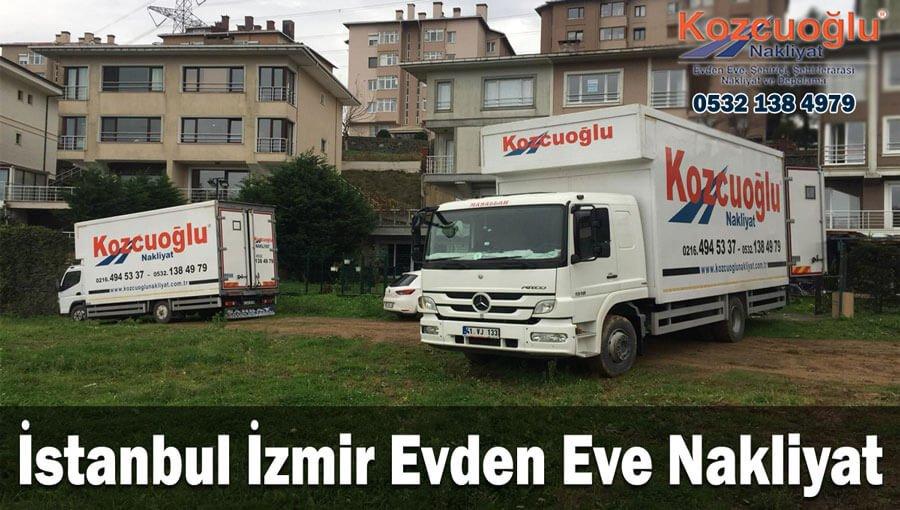 İstanbul İzmir evden eve nakliyat firması sigortalı garantili istanbuldan izmire ev taşıma