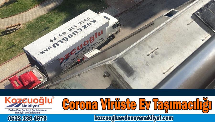 Corona Virüste Ev Taşımacılığı Hizmeti Covid 19 Evden Eve Nakliyat İstanbul Şirketi