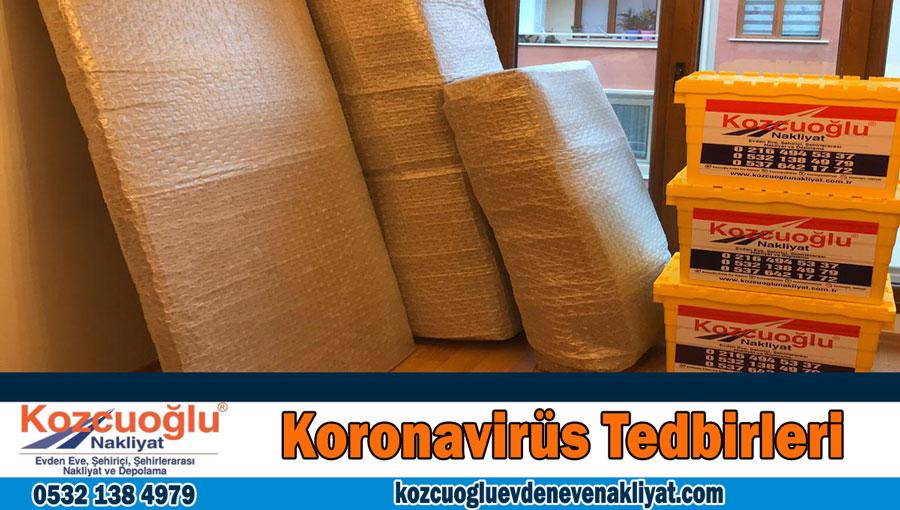 Korona Virüs Tedbirleri İstanbul evden eve nakliyat koronavirüs tedbirli nakliyat firması