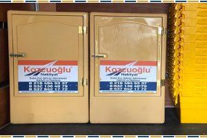Askılı elbise dolabı ile taşıma hizmeti sunan İstanbul nakliye şirketi
