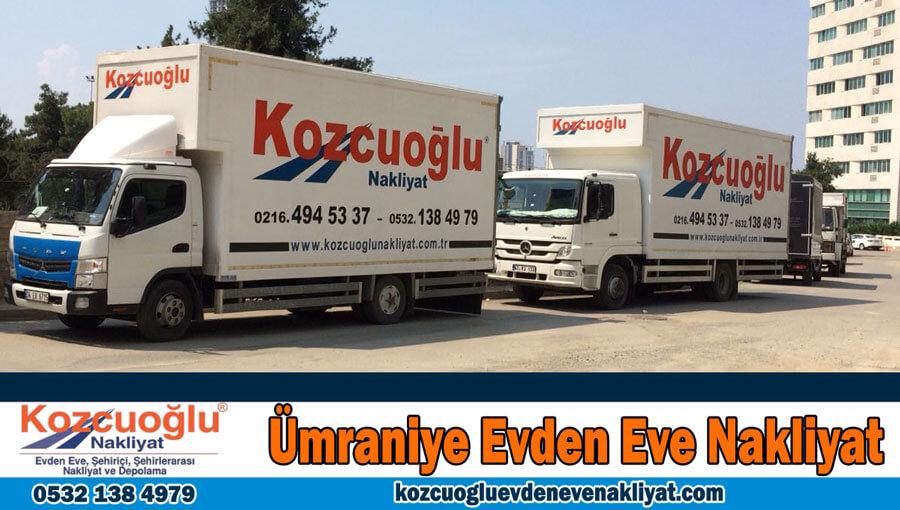 Ümraniye evden eve nakliyat İstanbul ümraniye nakliyat şirketi Kozcuoğlu Nakliyat Asansörlü Taşımacılık Firması