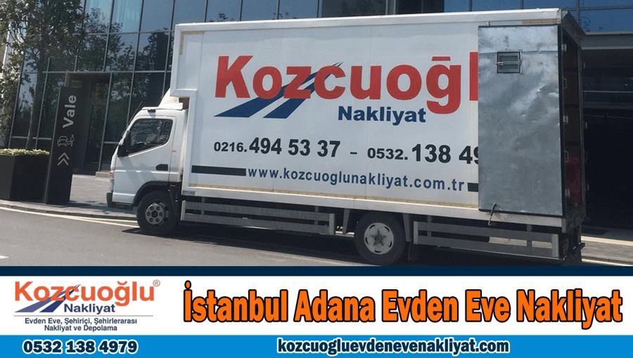 İstanbul Adana evden eve nakliyat Adana İstanbul ev taşıma şehirlerarası nakliye şirketi