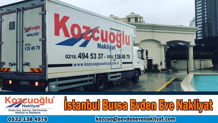 İstanbul Bursa evden eve nakliyat şirketi Bursa İstanbul nakliye fiyatları
