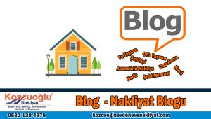 Blog nakliyat blogu evden eve nakliyat taşıma blog pratik bilgiler