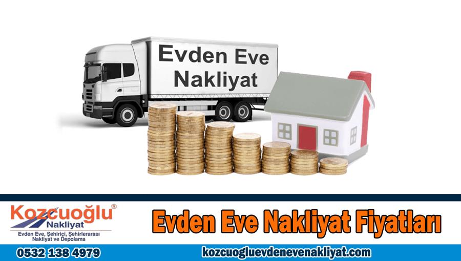 evden eve nakliyat fiyatları İstanbul ev taşıma fiyatları güncel