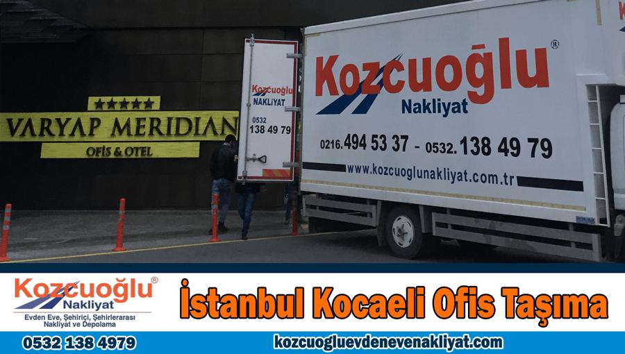 İstanbul Kocaeli ofis taşıma Kocaeli işyeri ofis taşıma şirketi