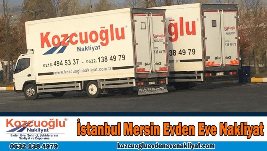 İstanbul Mersin evden eve nakliyat İstanbuldan Mersine ev taşıma şirketi