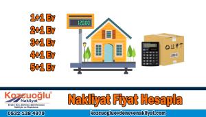 Nakliyat fiyat hesaplama ev taşıma evden eve nakliyat fiyat hesapla