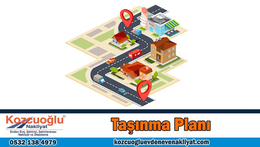 Taşınma Planı ev taşıma planı İstanbul evden eve nakliyat planlı taşınma rehberi