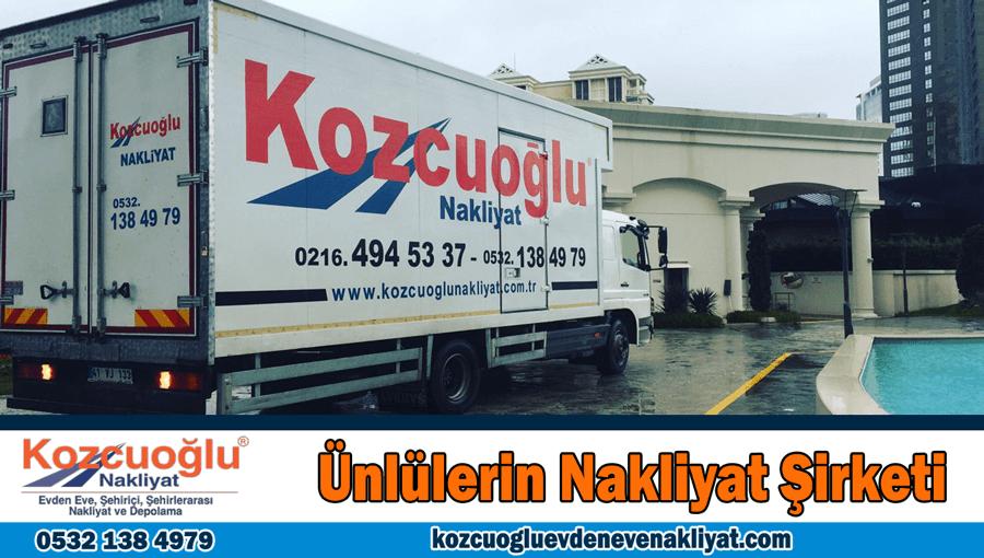 Ünlülerin evden eve nakliyat şirketi İstanbul ünlülerin nakliyat şirketi Ünlü Nakliye firması