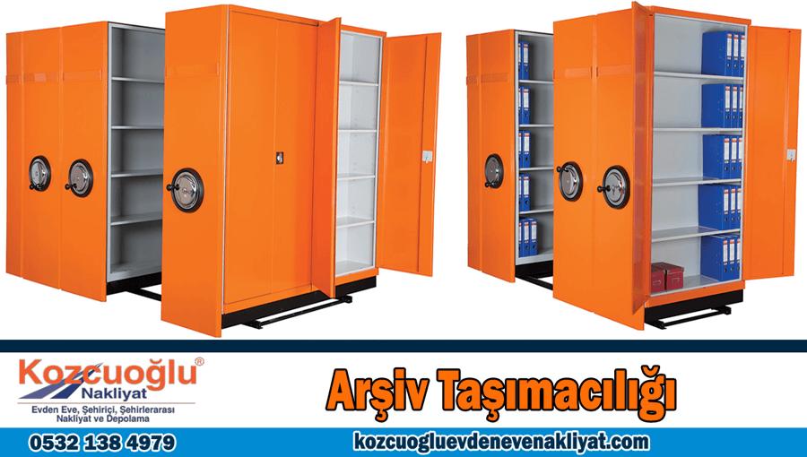 Arşiv taşımacılığı İstanbul arşiv taşıma şirketi