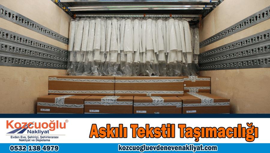 Askılı tekstil taşımacılığı İstanbul askılı tekstil taşımak