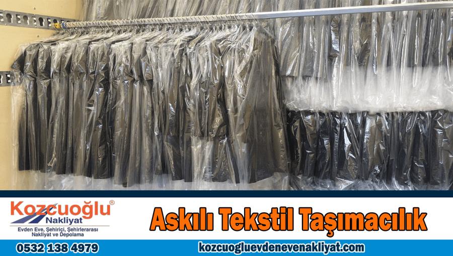 Askılık tekstil taşımacılık İstanbul askılı tekstil ürünleri taşıma nakliye şirketi