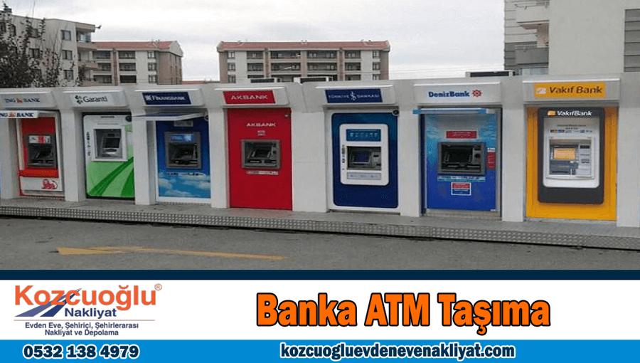 Banka ATM taşıma İstanbul atm nakliyat firması