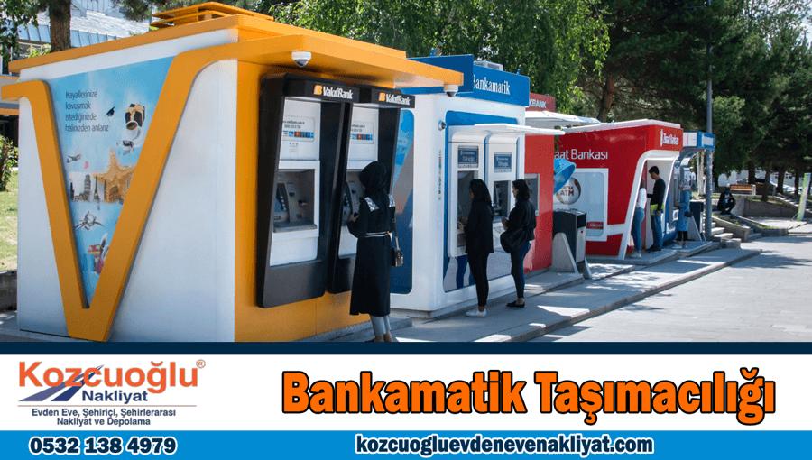 Bankamatik taşımacılığı İstanbul banka ATM taşıma şirketi