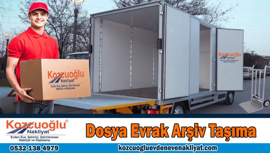 Dosya evrak arşiv taşıma İstanbul dosya fiziksel arşiv taşıma şirketi