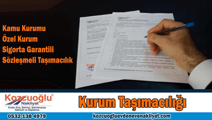 Kurum taşımacılığı İstanbul kamu kurum taşıma şirketi