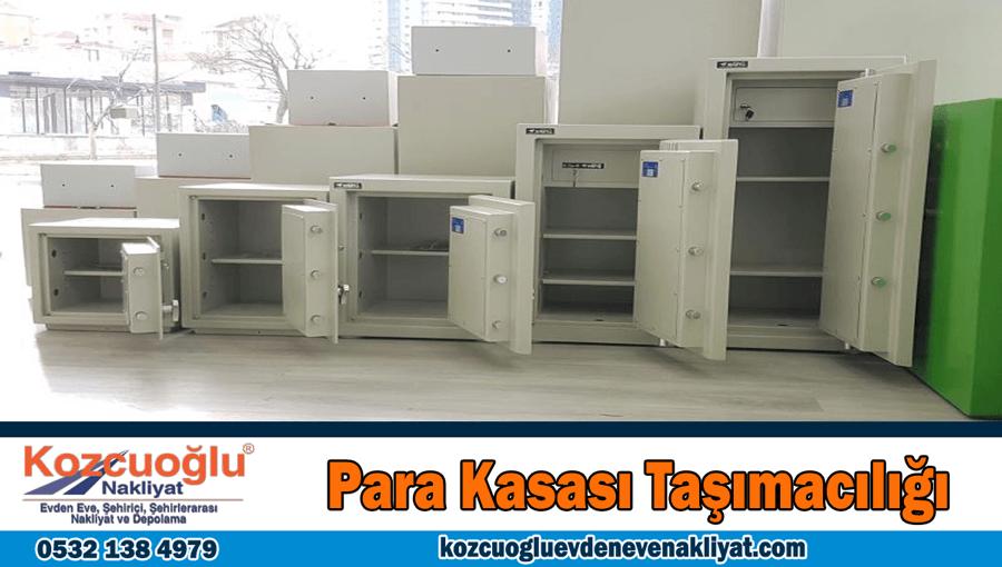 Para kasası taşımacılığı İstanbul çelik para kasası taşıma fiyatları