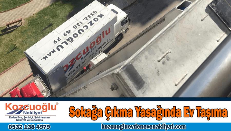Sokağa çıkma yasağında ev taşıma İstanbul yasaklarda ev taşımak