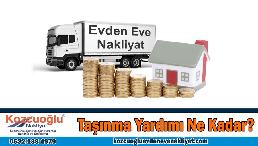 Taşınma yardımı ne kadar İstanbul taşınma yardım ücretleri