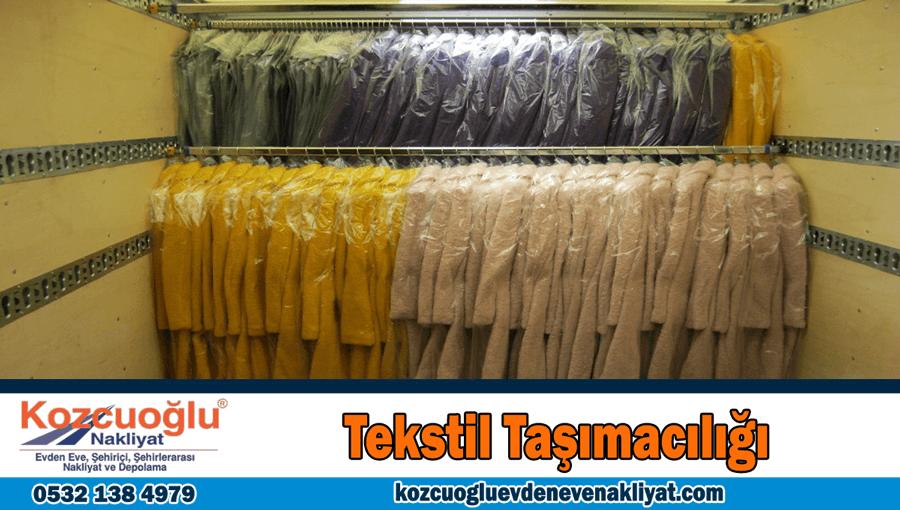 Tekstil taşımacılığı İstanbul tekstil taşıma şirketi nakliye hizmeti