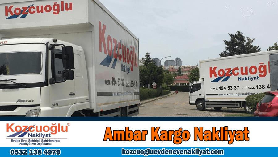 Ambar kargo nakliyat İstanbul ambar nakliyat firması