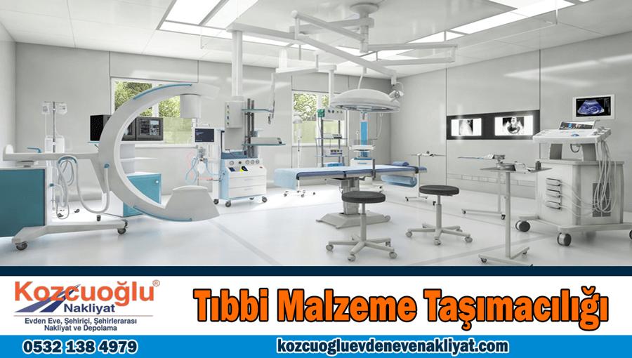 Tıbbi malzeme taşımacılığı İstanbul hastane tıbbi malzeme taşıma şirketi
