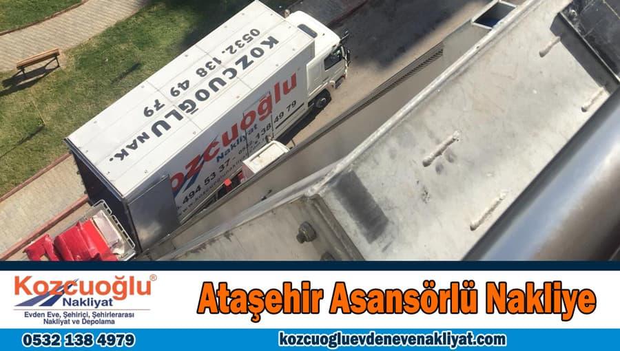 Ataşehir asansörlü nakliye Ataşehir asansörlü nakliyat ev taşıma şirketi