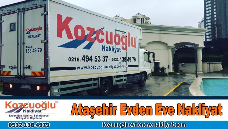 Ataşehir evden eve nakliyat İstanbul ataşehir nakliyat firması
