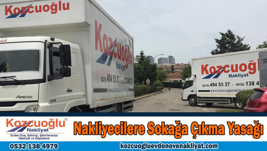 İstanbul'da tam kapanma Nakliyecilere sokağa çıkma yasağı var mı