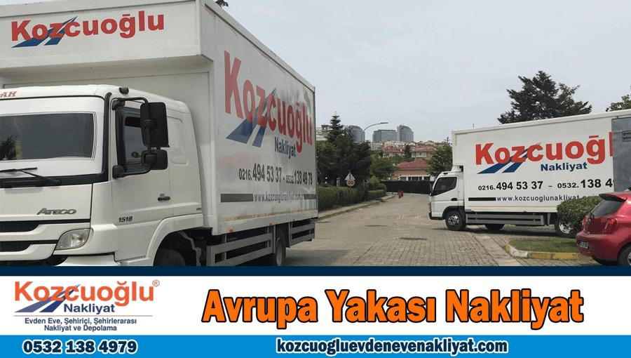 Avrupa yakası evden eve nakliyat İstanbul avrupa yakası nakliyat firması
