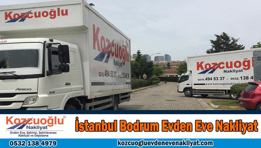 İstanbul Bodrum evden eve nakliyat İstanbul bodrum nakliyat firması