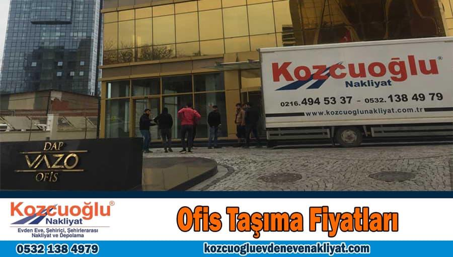 Ofis taşıma fiyatları İstanbul ofis taşıma ücretleri ofis taşımacılığı fiyat tarifesi