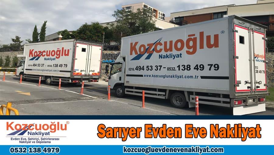 Sarıyer evden eve nakliyat İstanbul Sarıyer nakliyat firması
